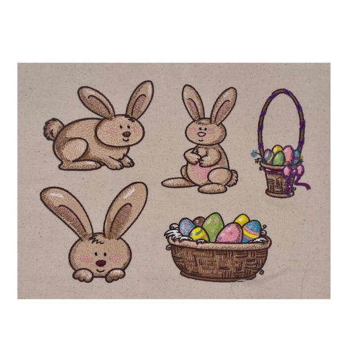 Easter Bunny Sew Outs