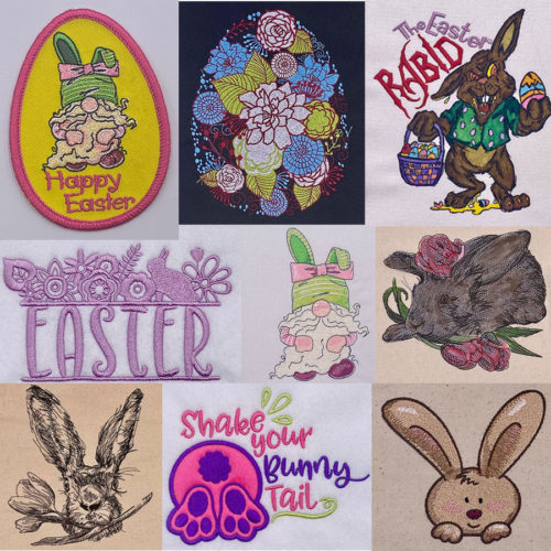 easter bundle embroidery designs