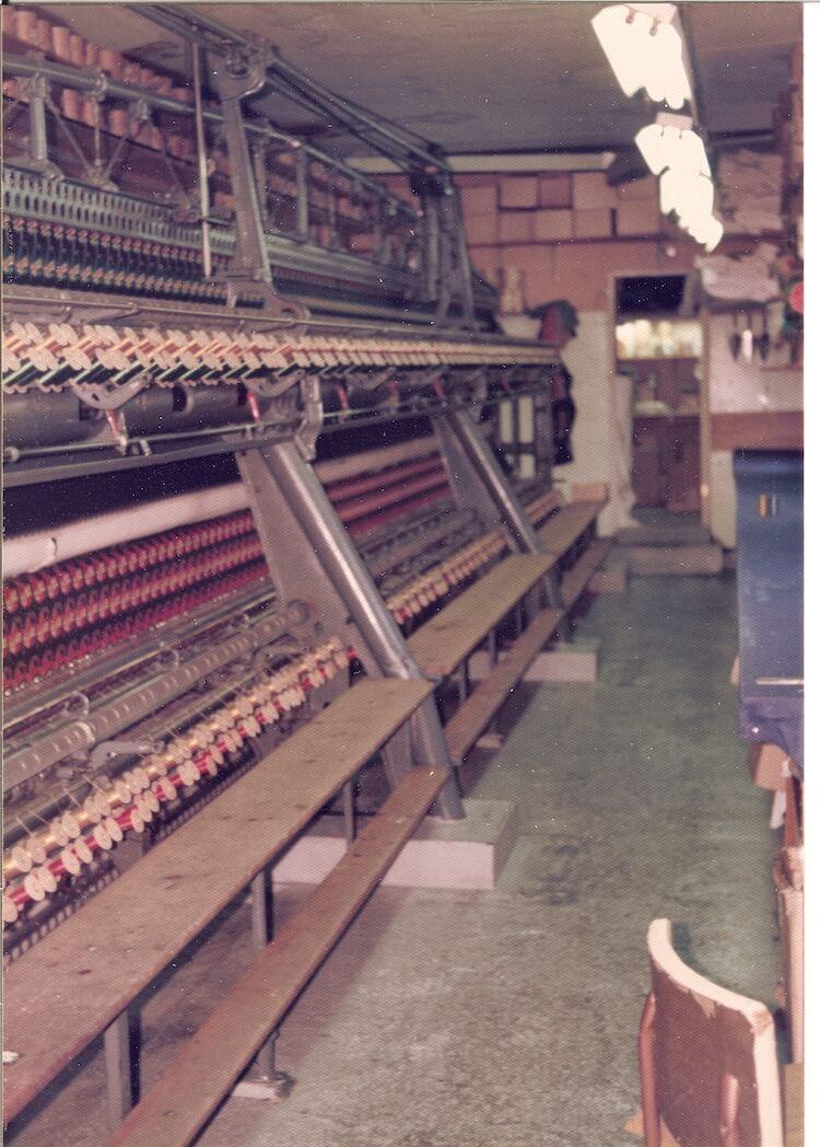 Schiffli machine 70's