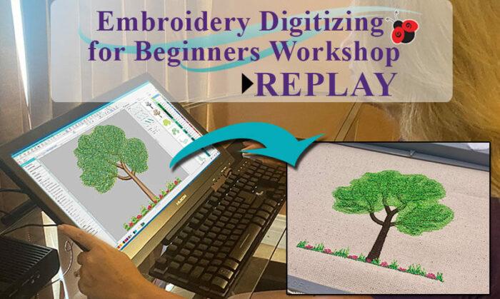 Embroidery Digitizing for Beginner's webinar replay