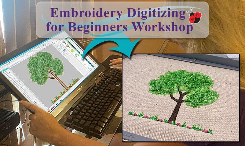 Embroidery Digitizing for Beginner's Workshop