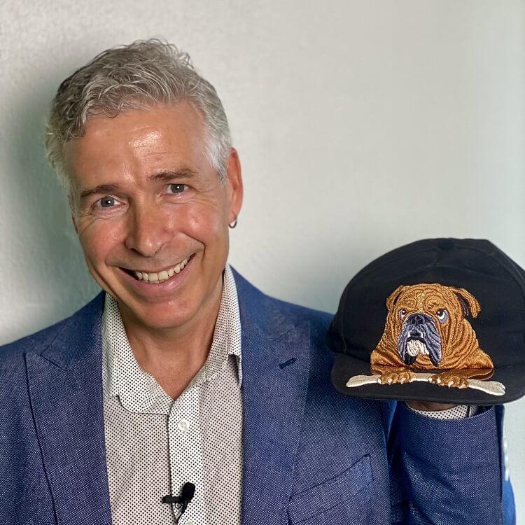 John Deer with 3D Puffy Foam Hat