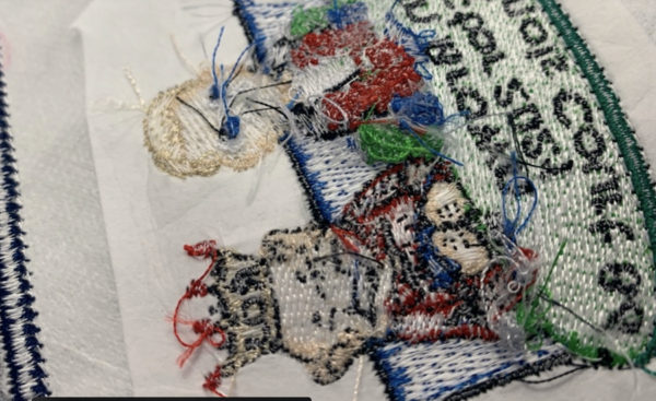 dense embroidery design