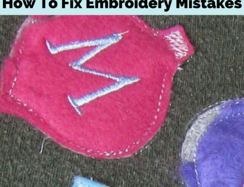 How To Fix Embroidery Mistakes | Complete Guide