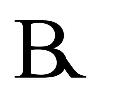 B R monogram
