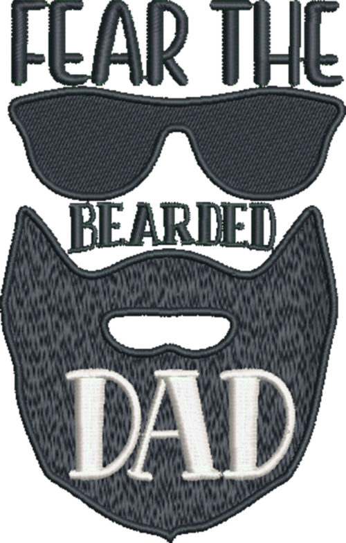 cool dad fear the bearded dad