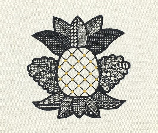 Linda lesson pineapple design