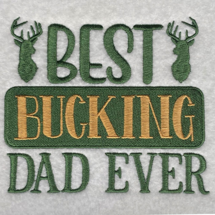 best bucking dad ever sewout