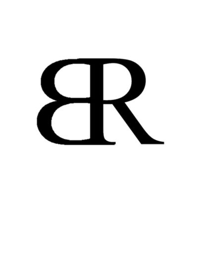 monograms BR back to back
