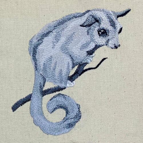 phalangerifomes embroidery design