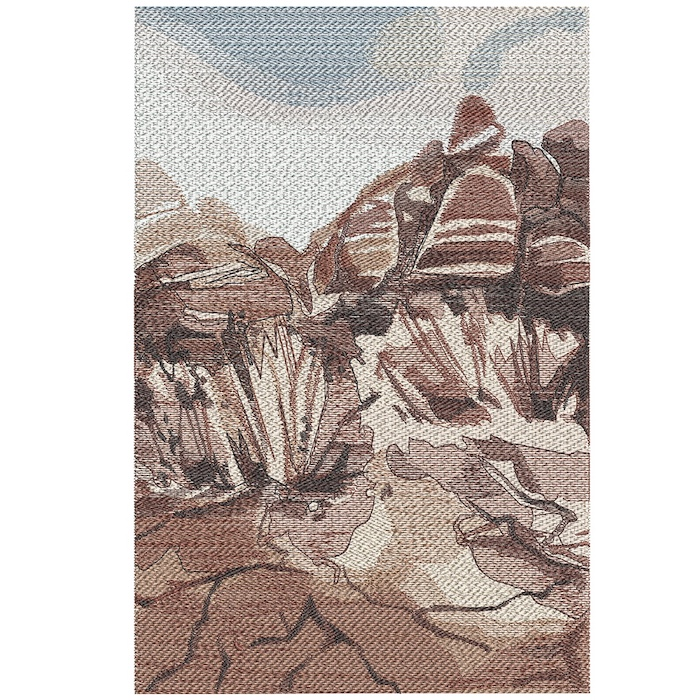 Outback Background 3 embroidery design