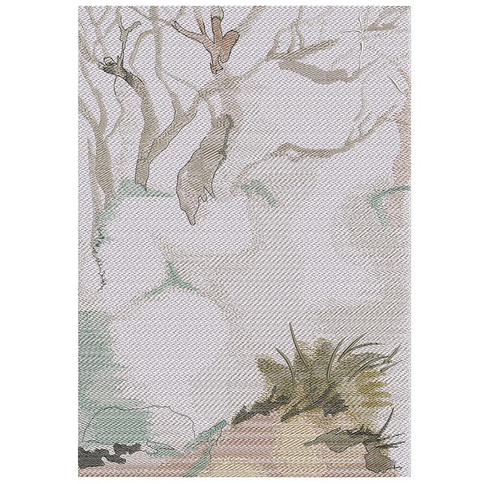 Outback Background 4 embroidery design