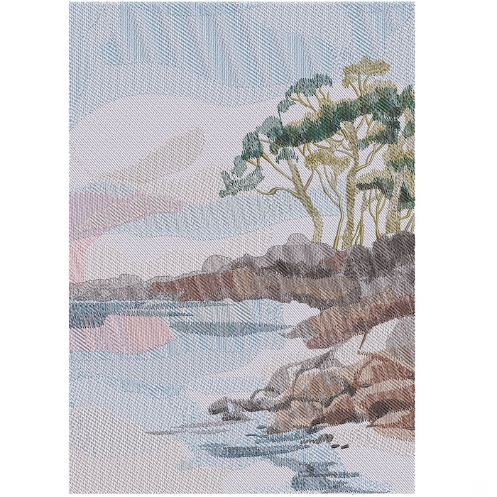 Outback Background 7 embroidery design