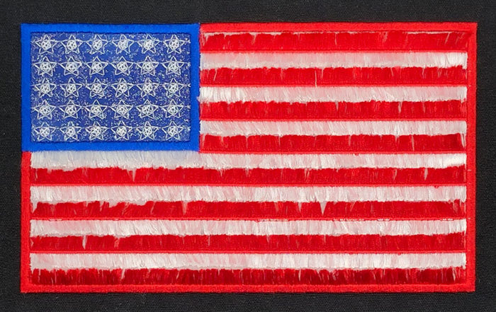 fringe flag usa