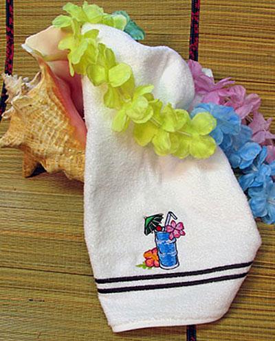 hawaiian drink towel