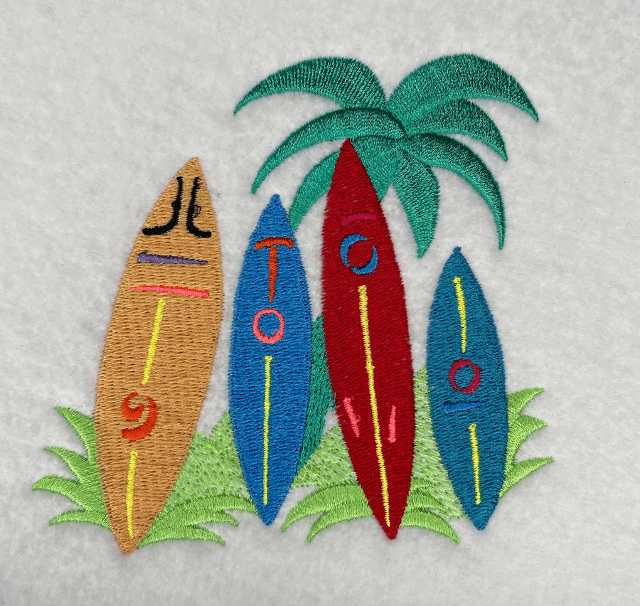 surfboards sew out