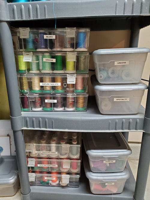 embroidery stash storage