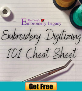 Embroidery Digitizing 101 Course