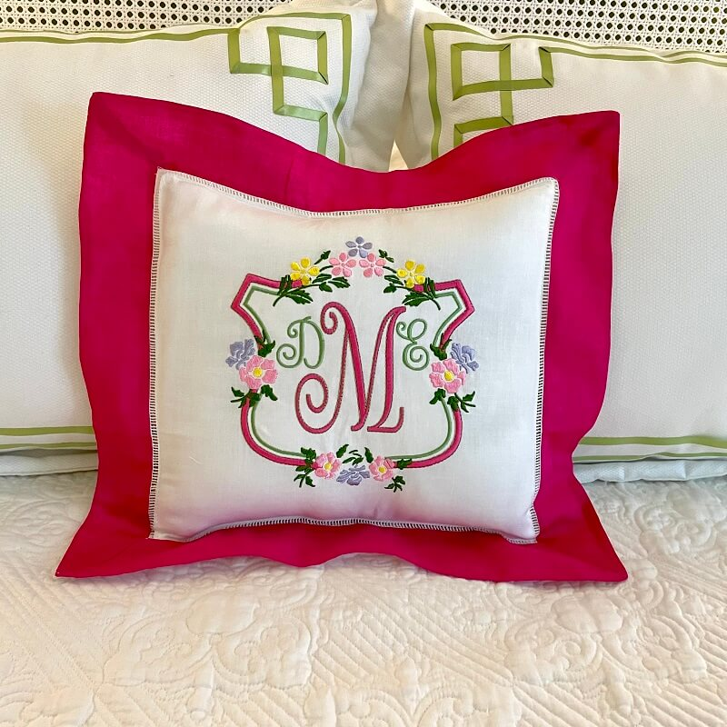Hatch Personalized Project: Floral Monogram