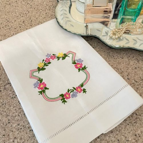 Hatch Personalized Project: Floral Monogram 2