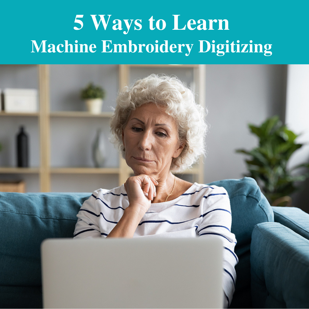 5 ways to learn machine embroidery digitizing