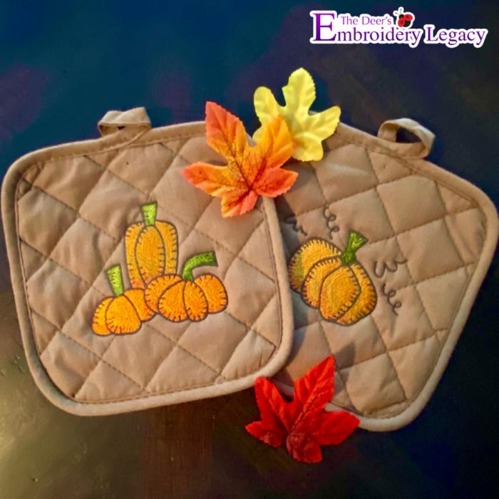 Pumpkin Embroidery Designs