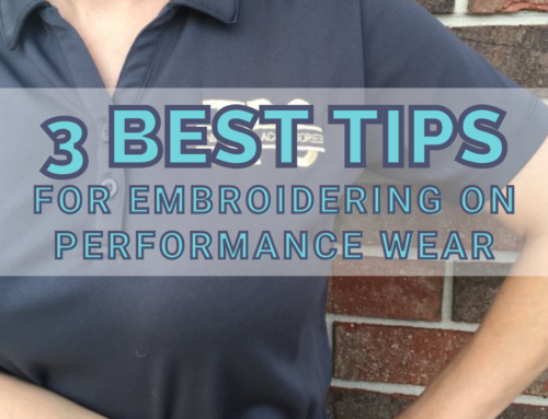 3 Best Tips For Embroidering On Performance Wear