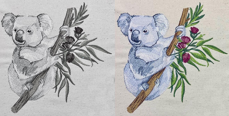 Koala Color Theory mobile
