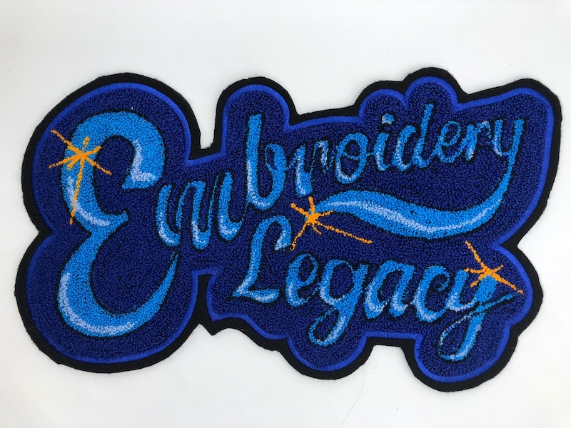 embroidery legacy chenille